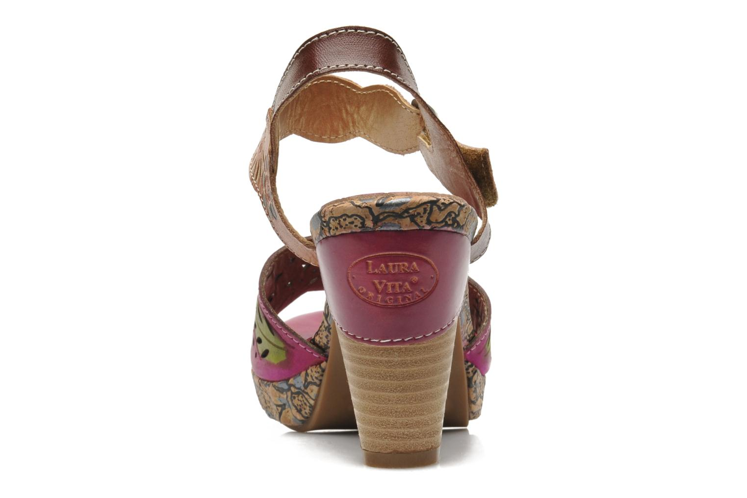 Sandals Laura Vita Salama Multicolor view from the right