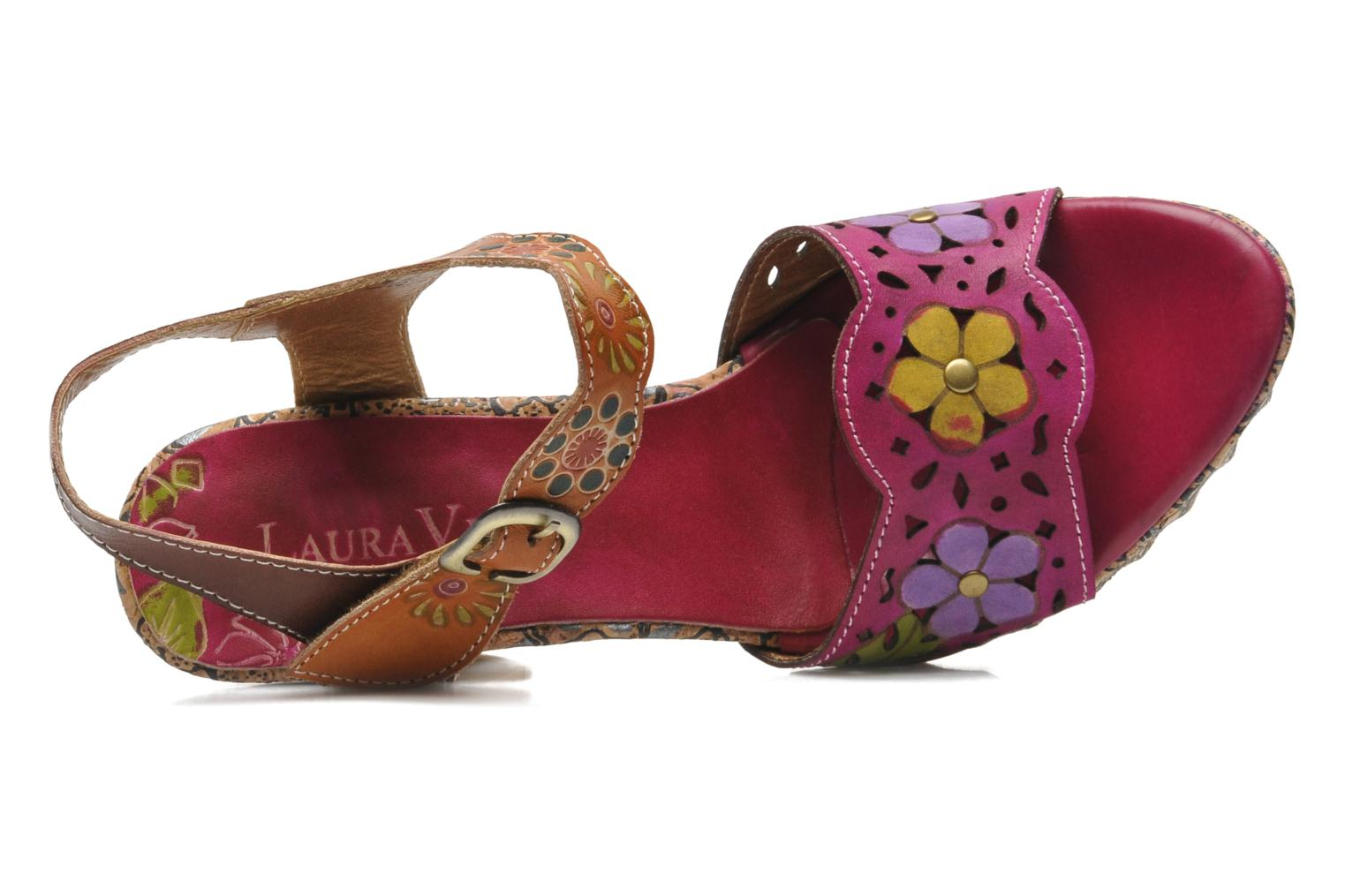 Sandals Laura Vita Salama Multicolor view from the left