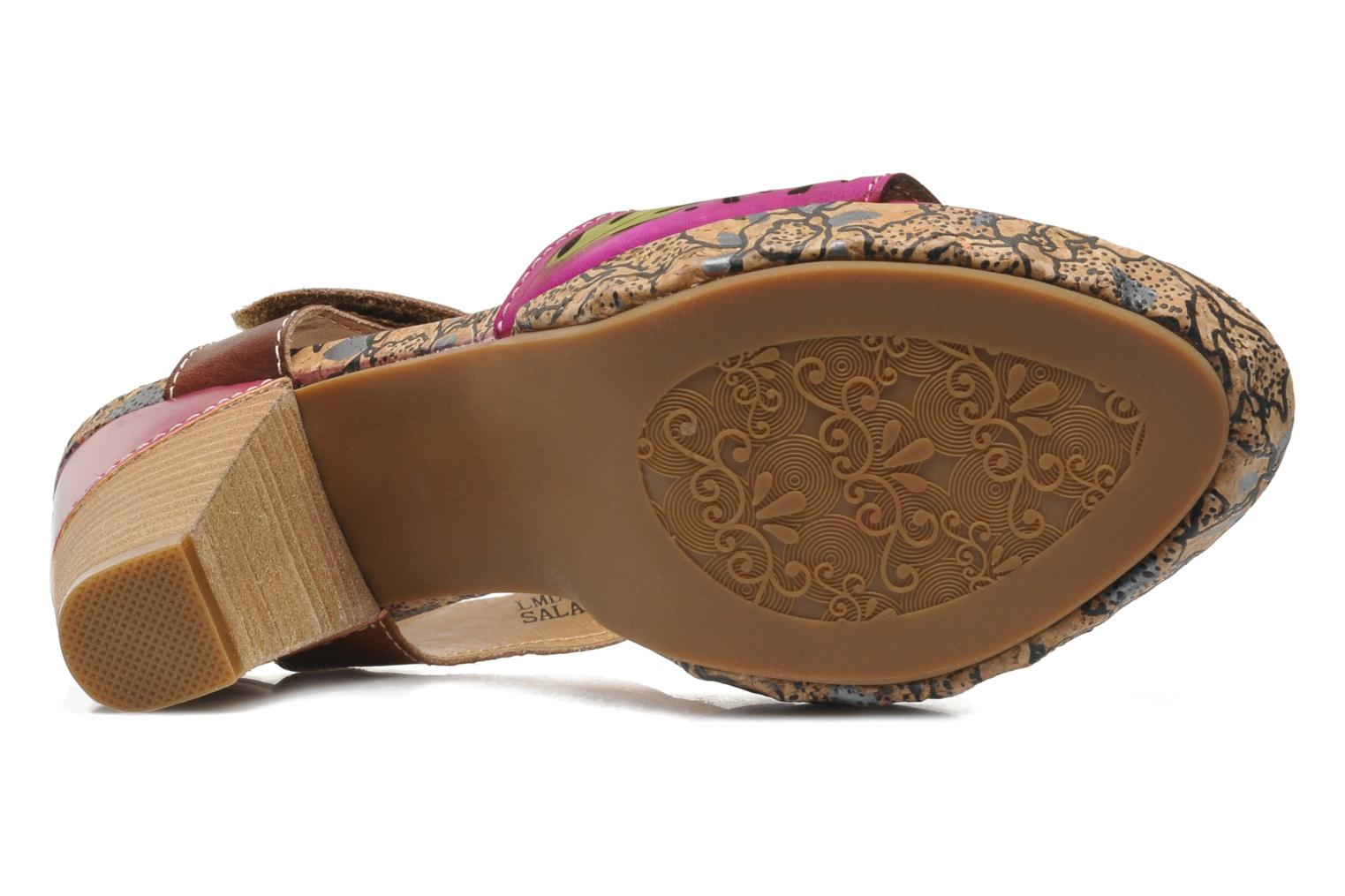 Sandals Laura Vita Salama Multicolor view from above