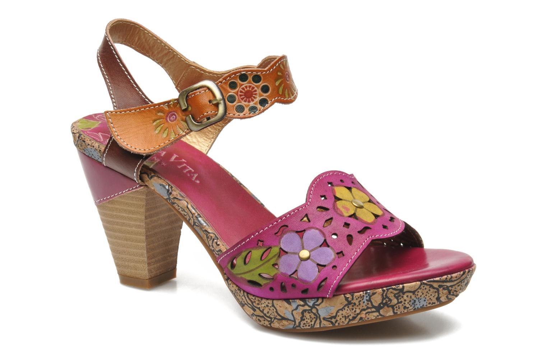 Sandals Laura Vita Salama Multicolor detailed view/ Pair view