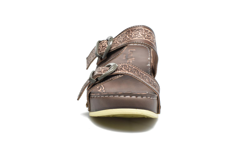 Mules & clogs Laura Vita Scep Brown model view