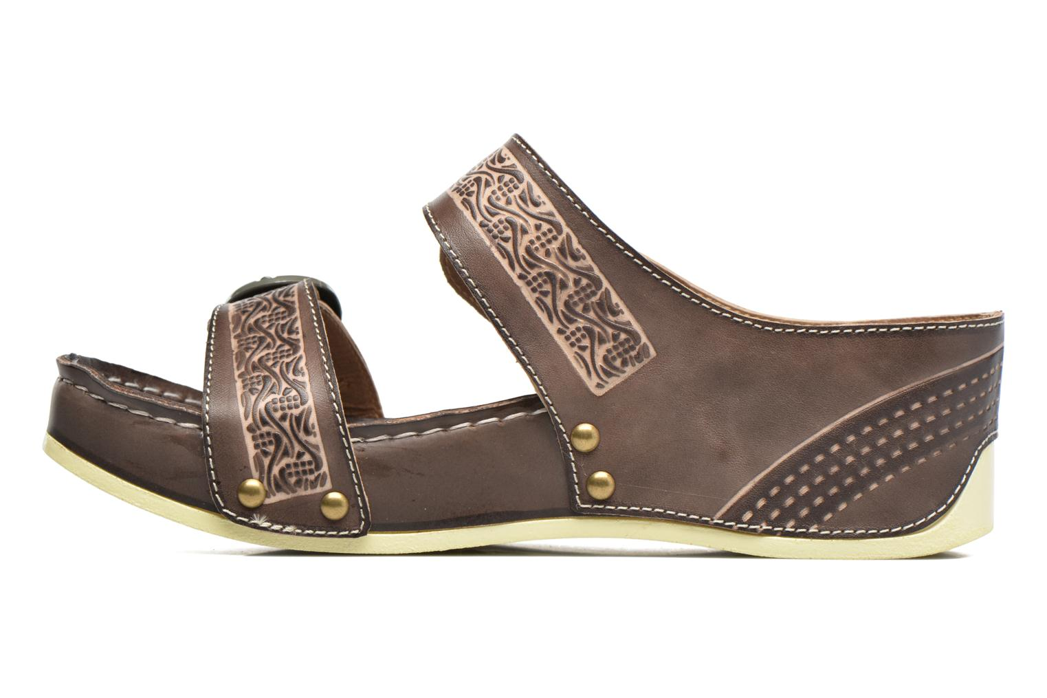 Mules & clogs Laura Vita Scep Brown front view