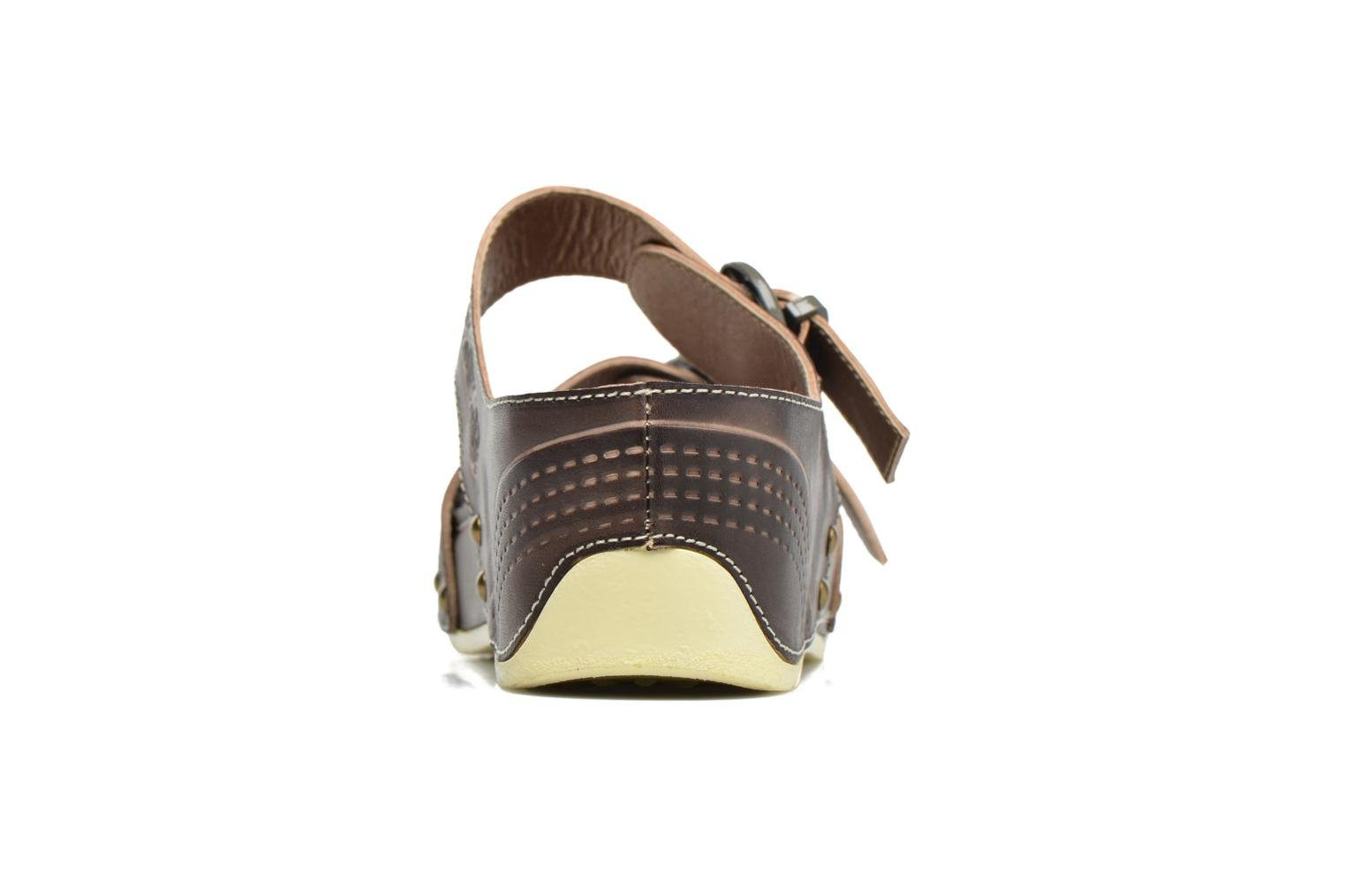 Mules & clogs Laura Vita Scep Brown view from the right