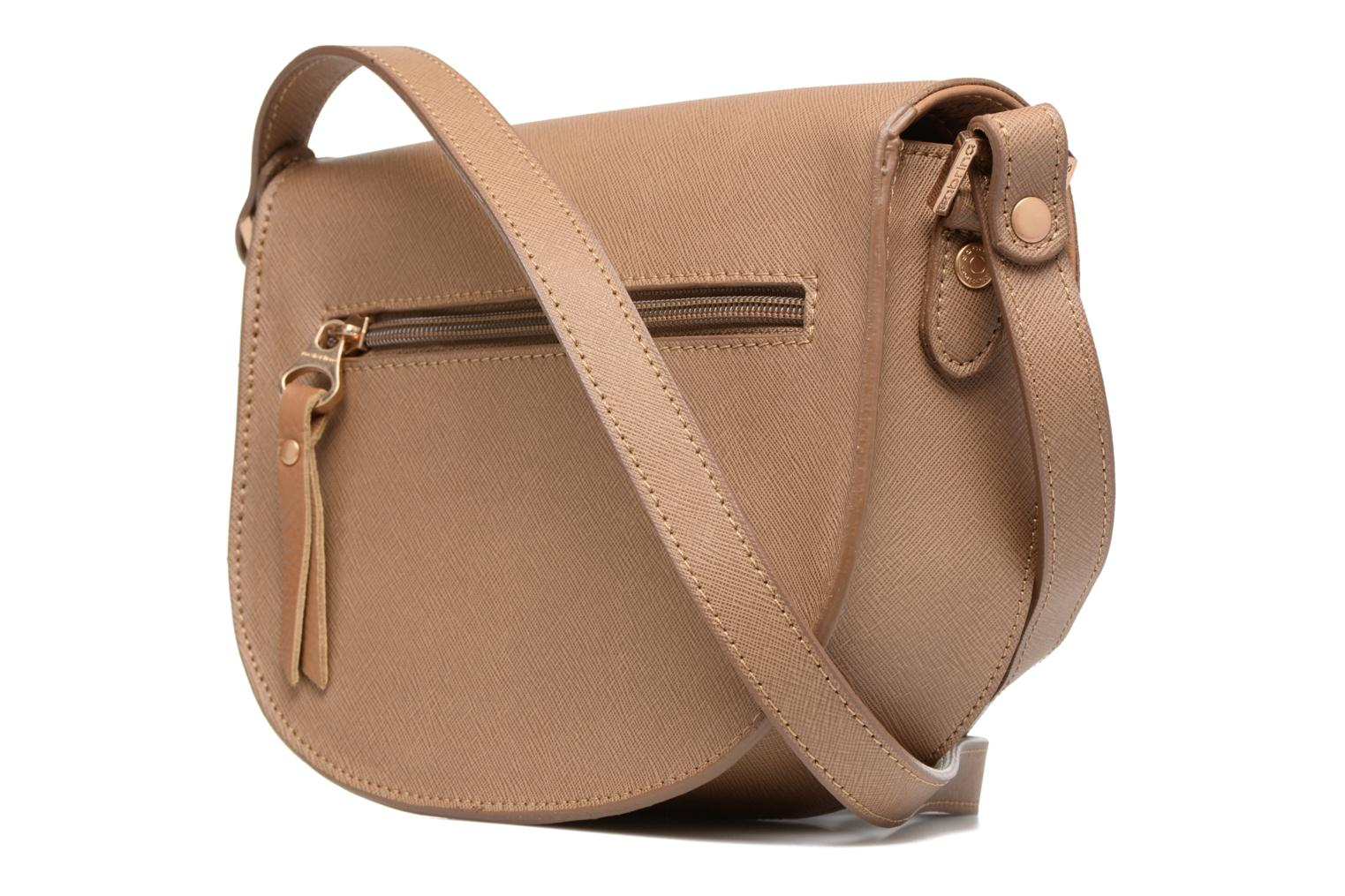 Handbags Sabrina Rebecca Brown view from the right