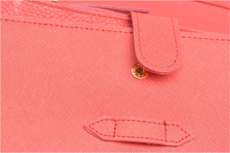 Portemonnaies & Clutches Sabrina Cléa orange ansicht von links