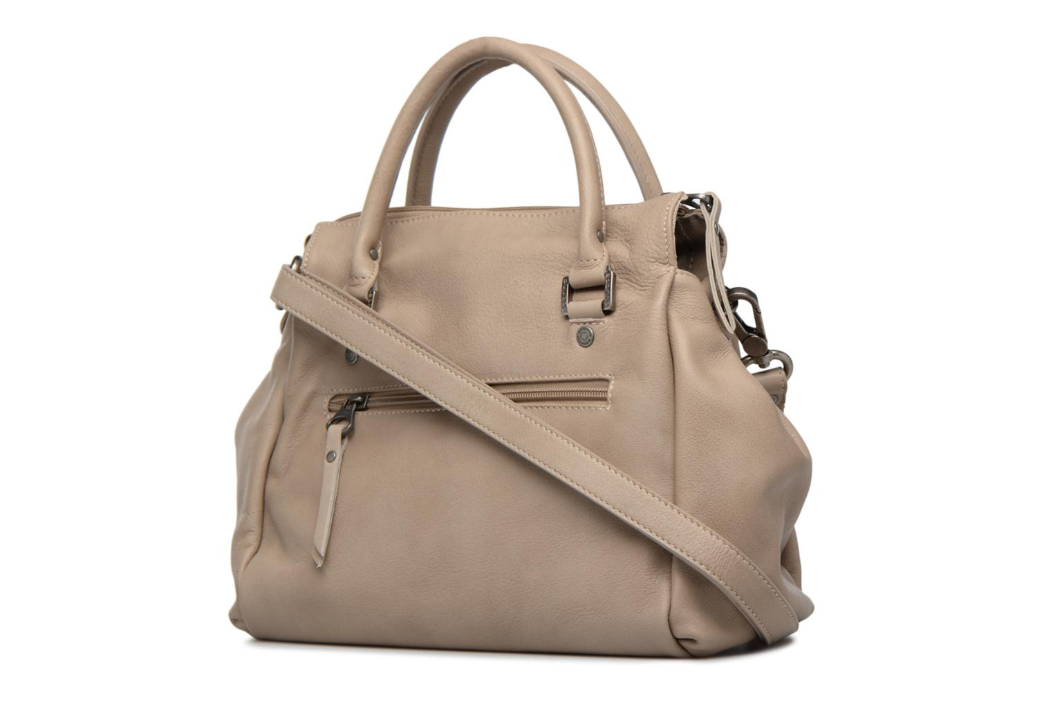 Handbags Sabrina Judith Beige view from the right
