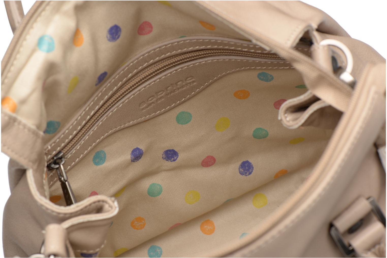 Håndtasker Sabrina Judith Beige se bagfra