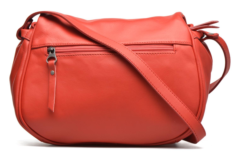 Handtaschen Sabrina Iris rot ansicht von vorne