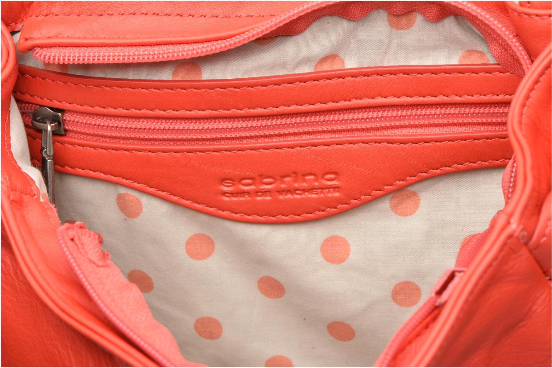 Handtaschen Sabrina Iris rot ansicht von hinten