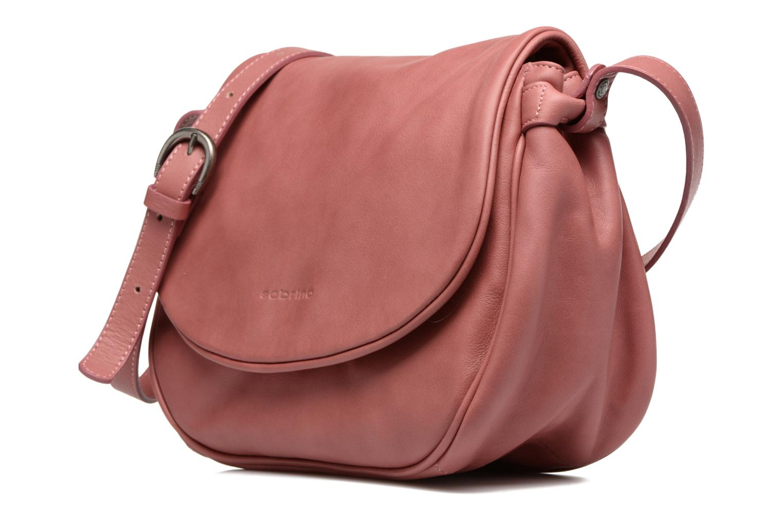 Handtaschen Sabrina Iris rosa schuhe getragen
