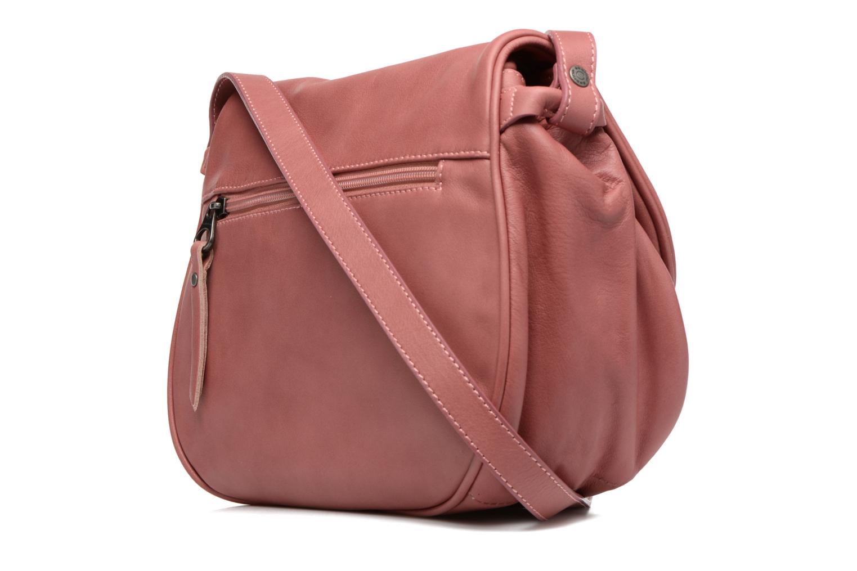 Handtaschen Sabrina Iris rosa ansicht von rechts