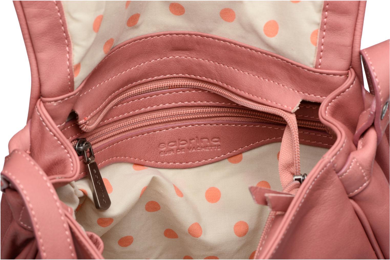Handtaschen Sabrina Iris rosa ansicht von hinten