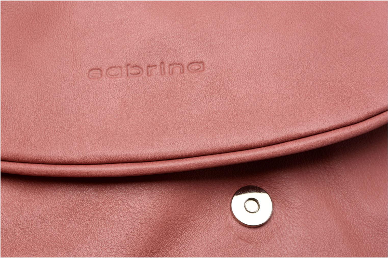Handtaschen Sabrina Iris rosa ansicht von links