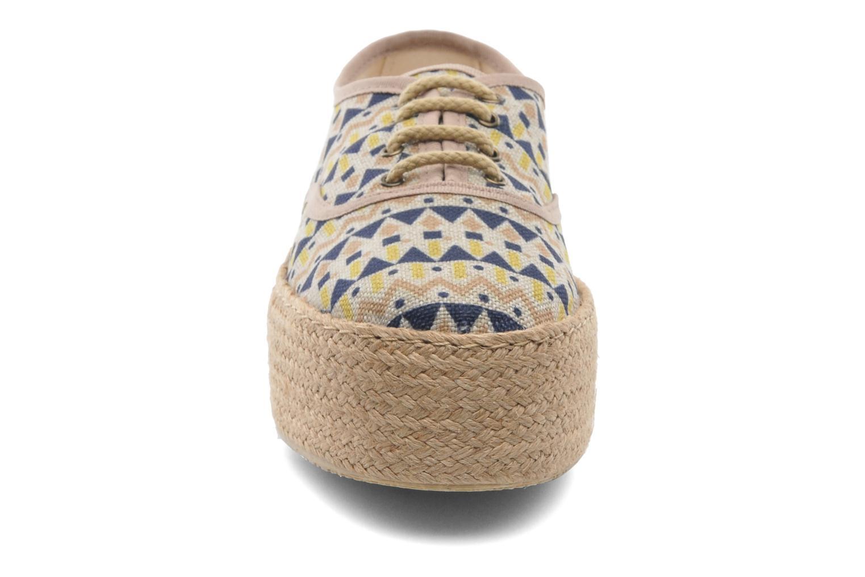 Scarpe di corda Ippon Vintage Nami Sun Multicolore modello indossato