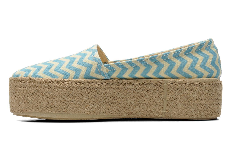 Scarpe di corda Ippon Vintage Nami beach Azzurro immagine frontale