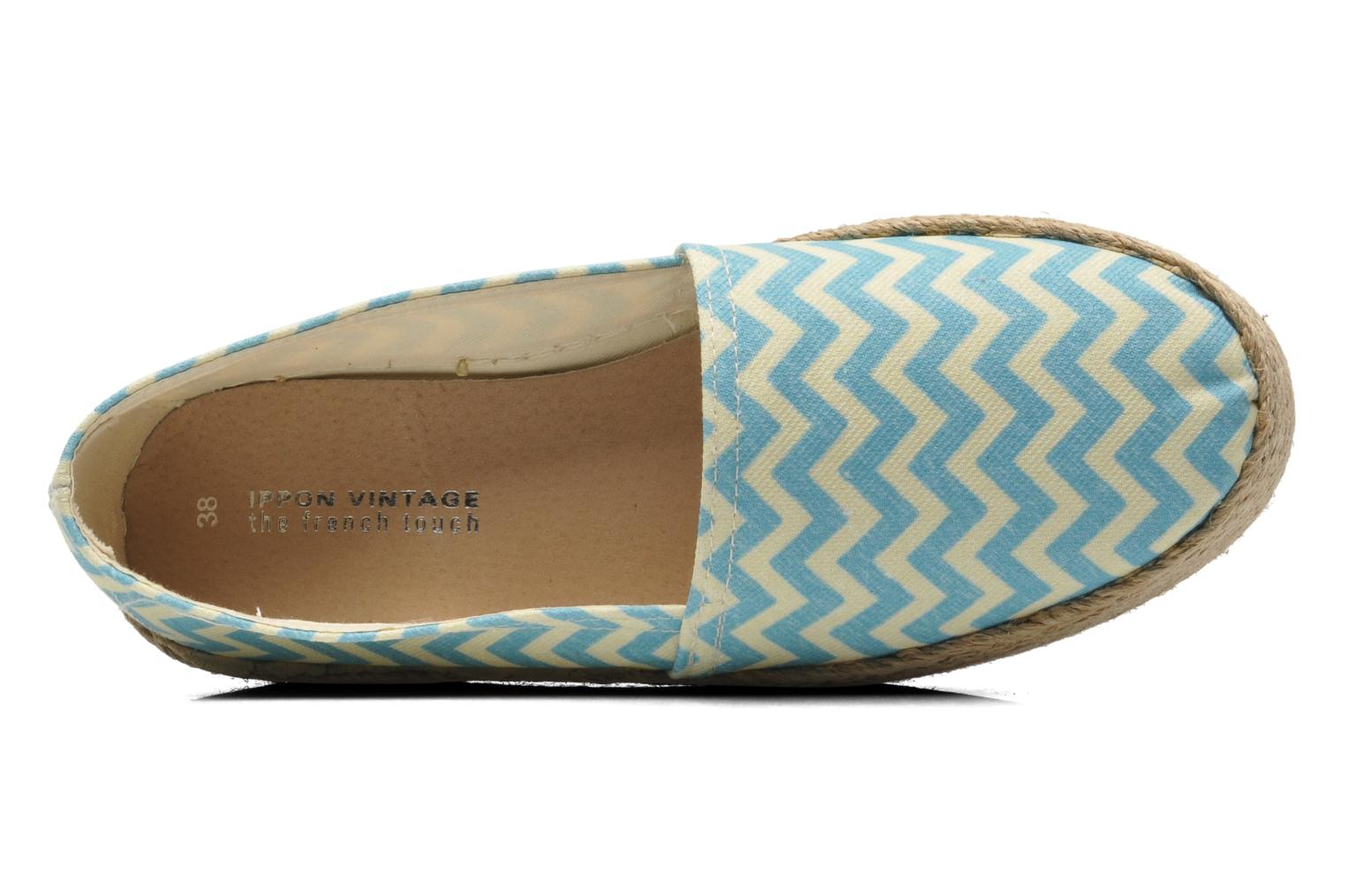 Espadrilles Ippon Vintage Nami beach Blue view from the left