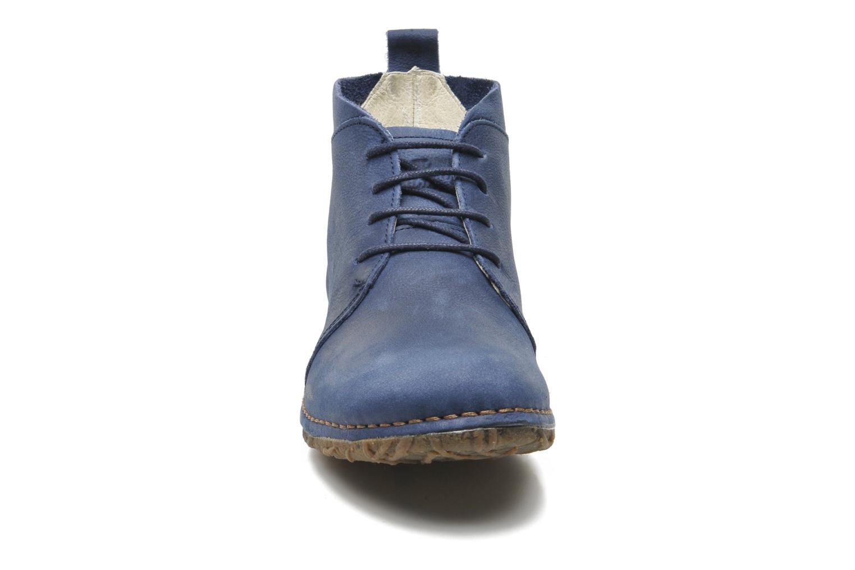 Chaussures à lacets El Naturalista Ankor N974 Bleu vue portées chaussures