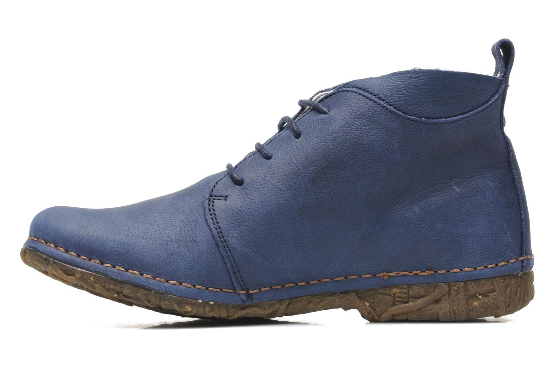 Chaussures à lacets El Naturalista Ankor N974 Bleu vue face