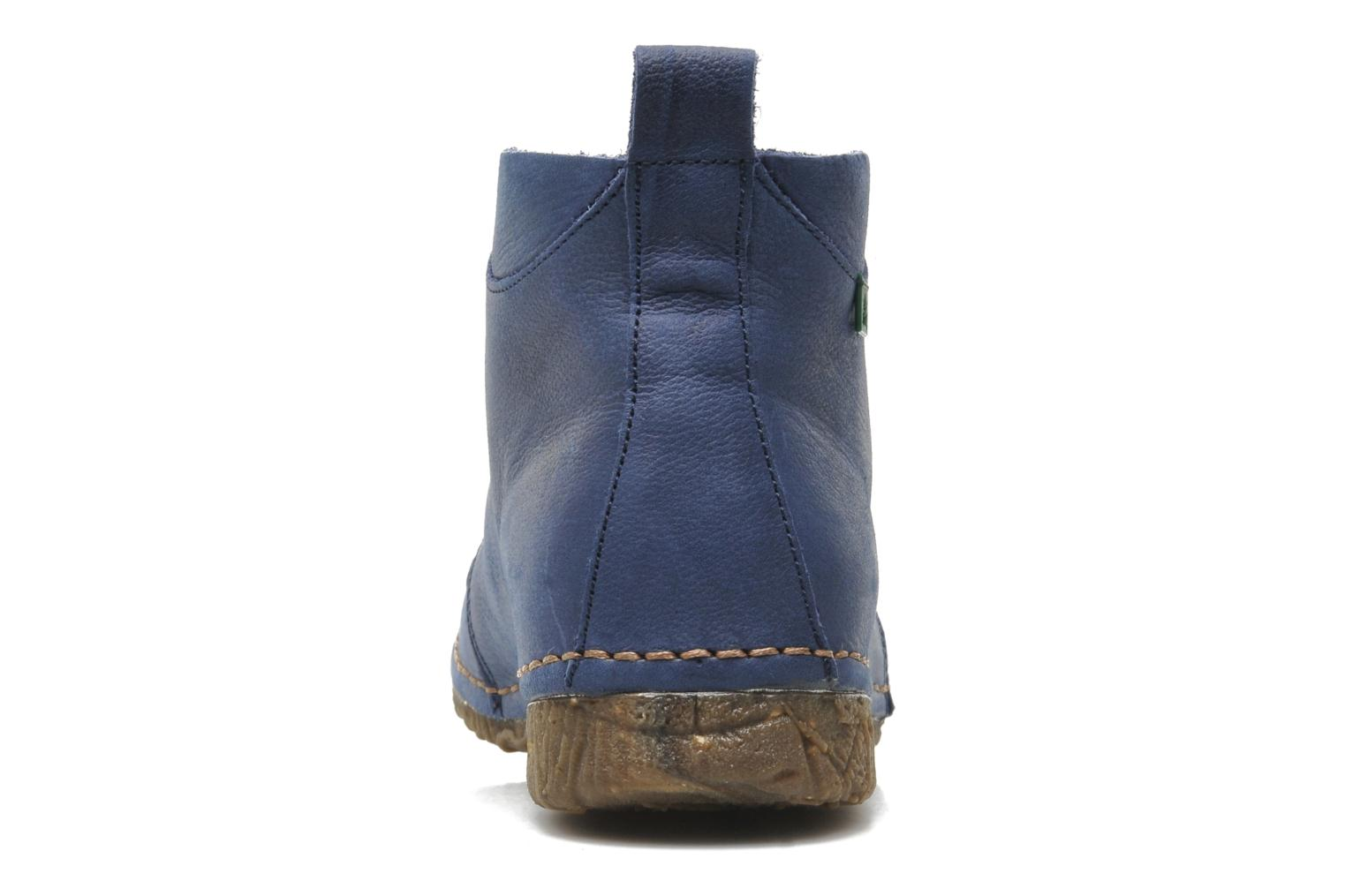 Lace-up shoes El Naturalista Ankor N974 Blue view from the right