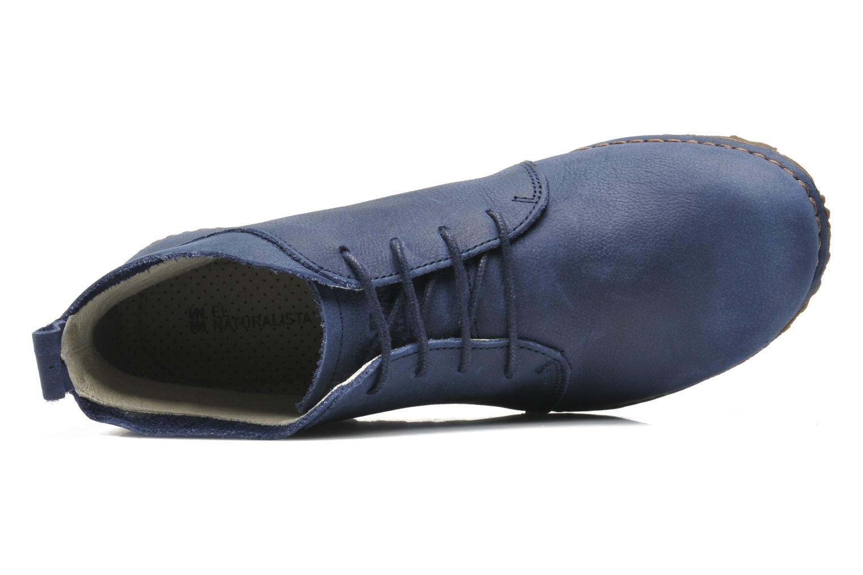 Chaussures à lacets El Naturalista Ankor N974 Bleu vue gauche