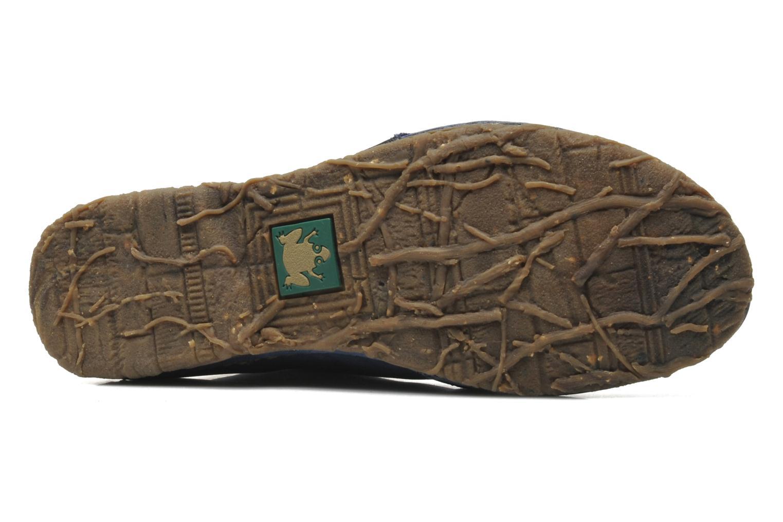 Chaussures à lacets El Naturalista Ankor N974 Bleu vue haut