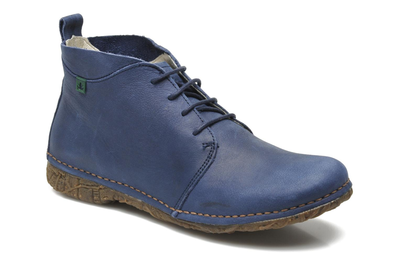 Lace-up shoes El Naturalista Ankor N974 Blue detailed view/ Pair view