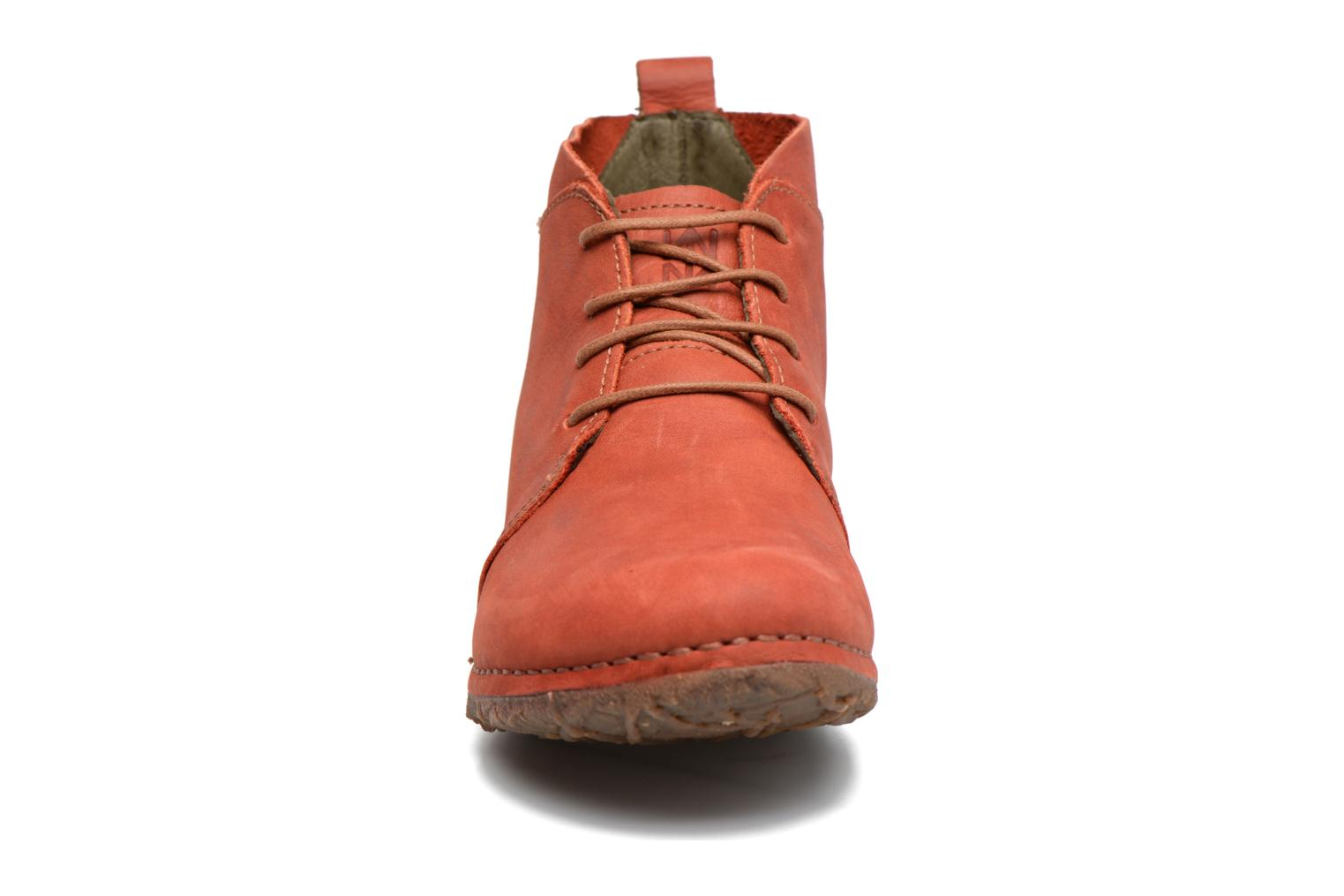 Lace-up shoes El Naturalista Ankor N974 Red model view