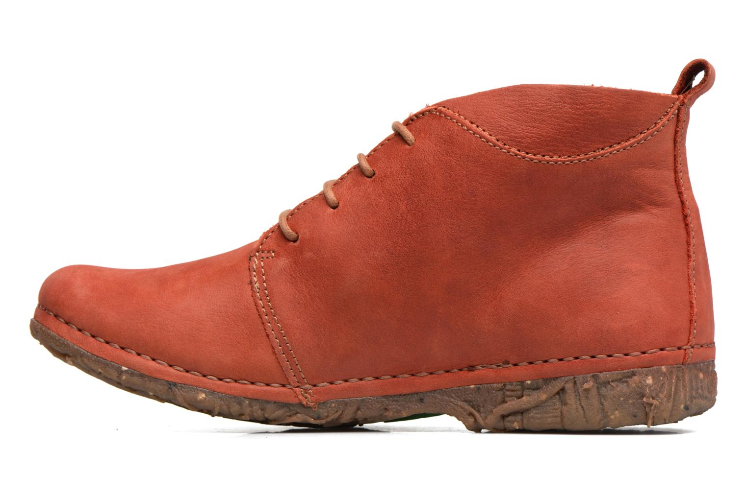 Lace-up shoes El Naturalista Ankor N974 Red front view