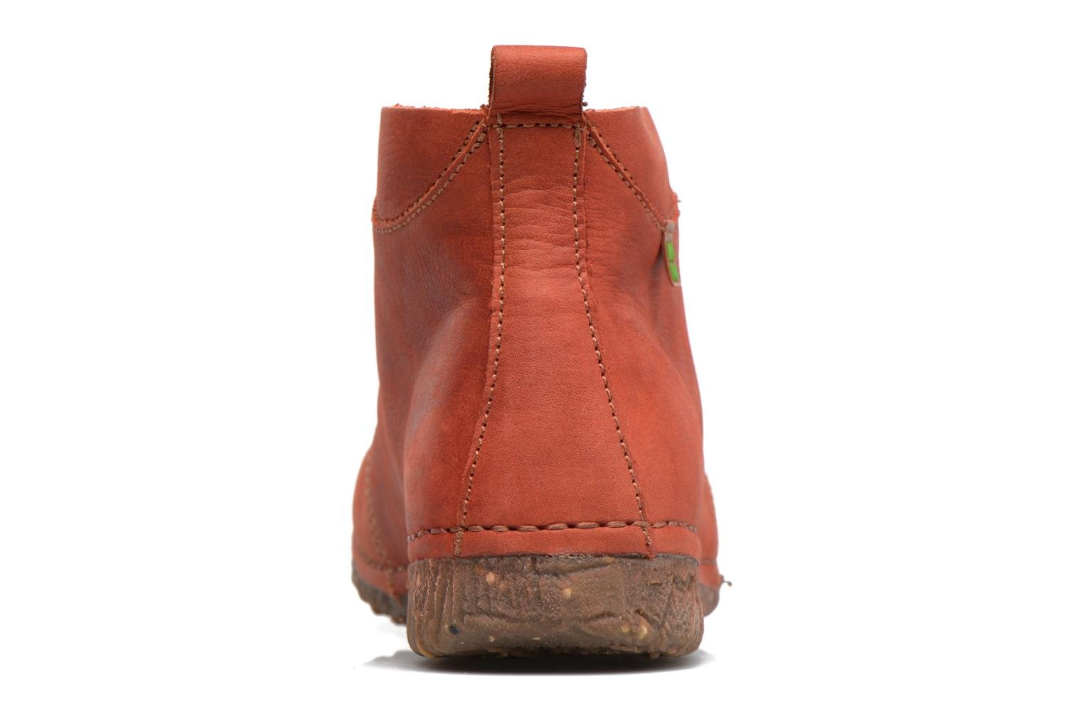 Lace-up shoes El Naturalista Ankor N974 Red view from the right