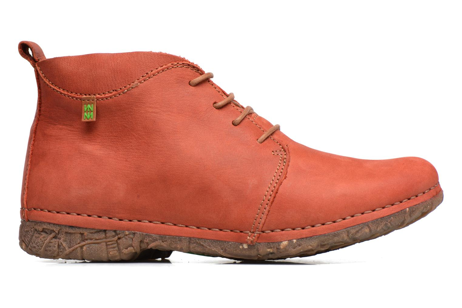 Lace-up shoes El Naturalista Ankor N974 Red back view