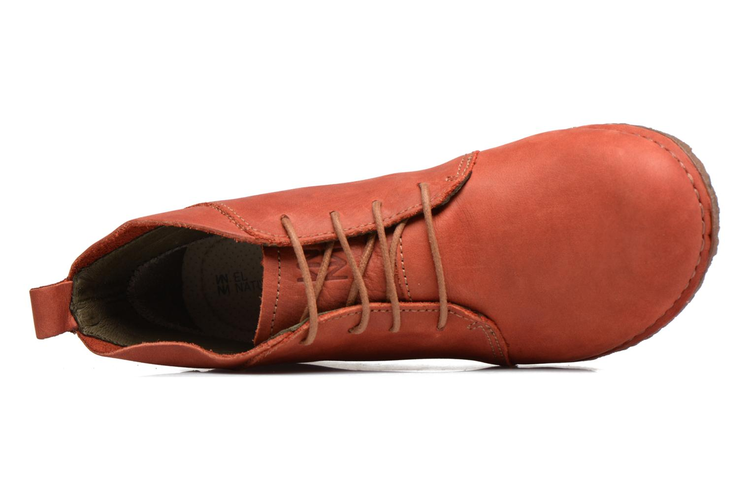 Lace-up shoes El Naturalista Ankor N974 Red view from the left