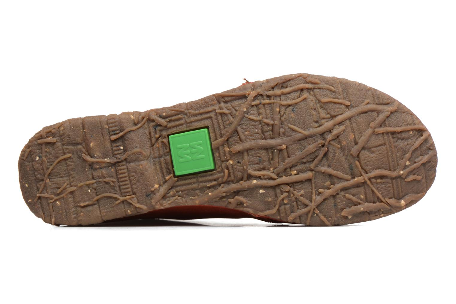 Lace-up shoes El Naturalista Ankor N974 Red view from above