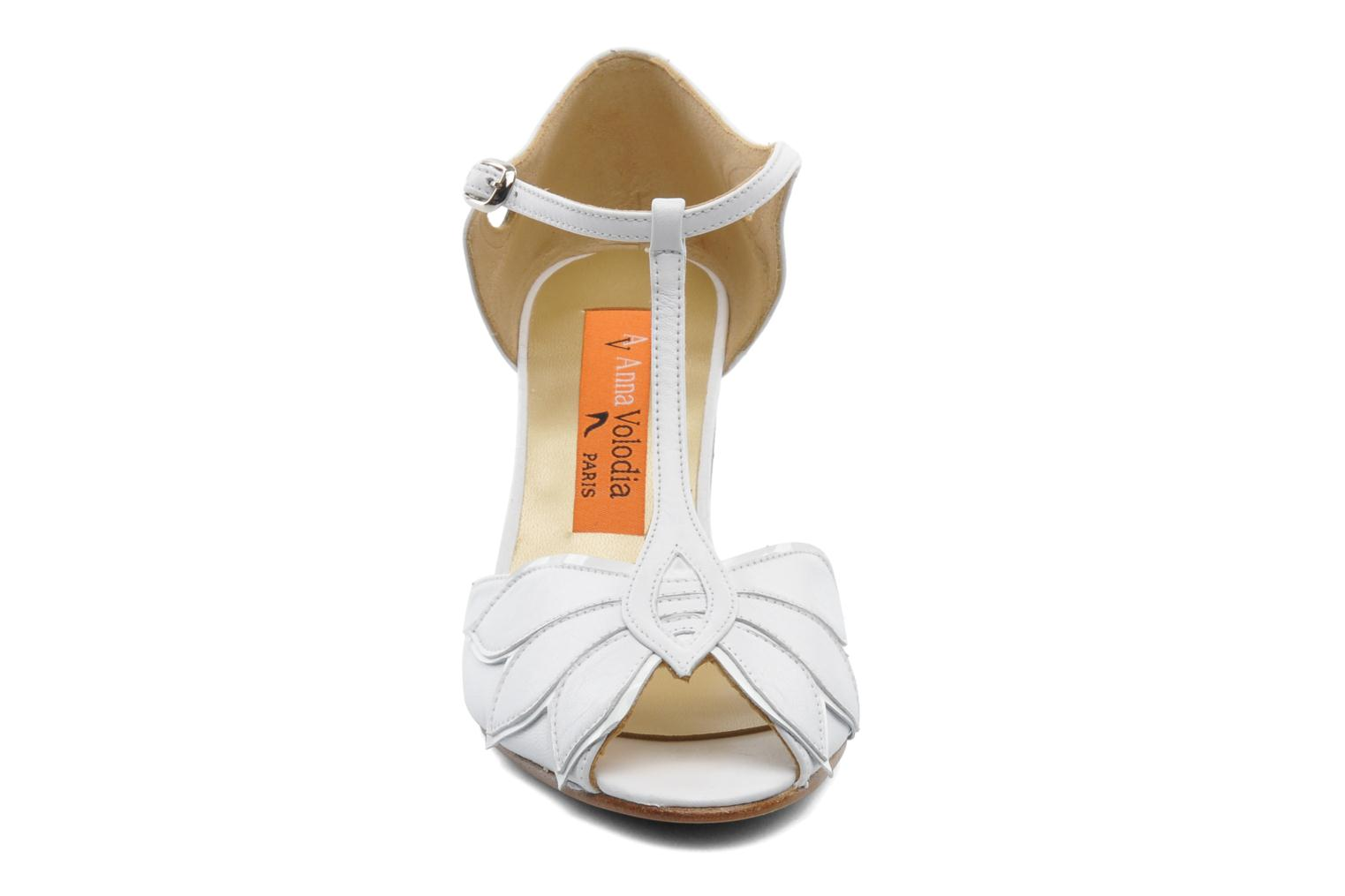 High heels Anna Volodia Mama White model view