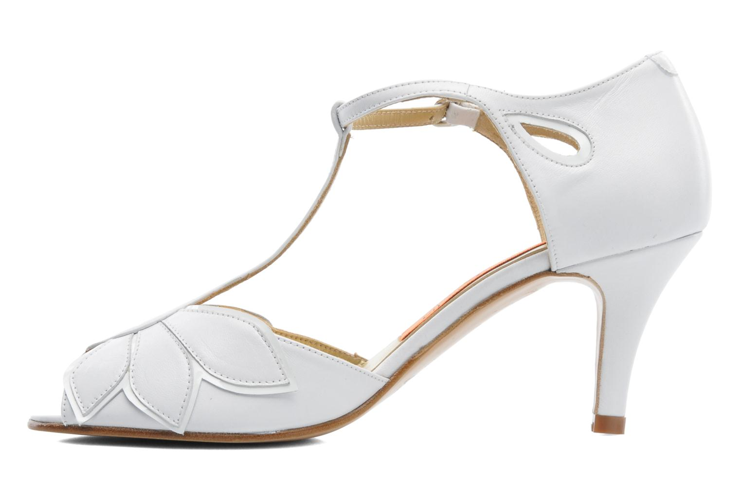High heels Anna Volodia Mama White front view