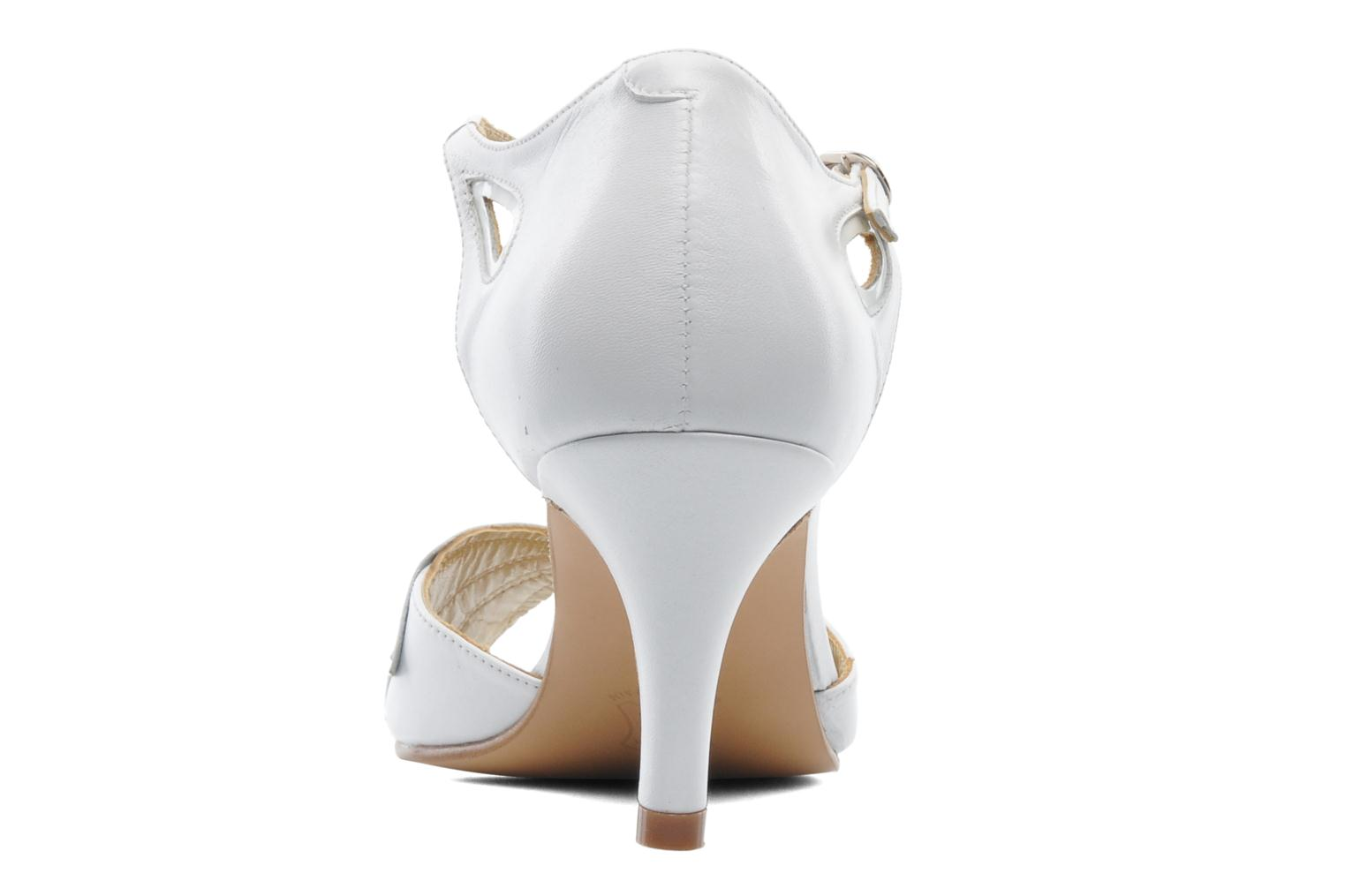 High heels Anna Volodia Mama White view from the right
