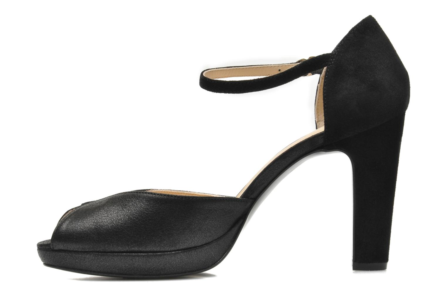 High heels Mellow Yellow Simane Black front view
