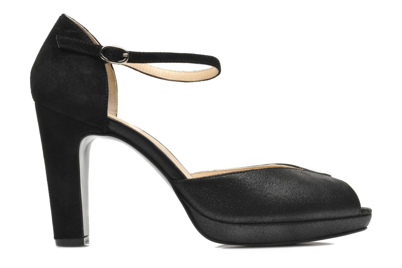 Zapatos de tacón Mellow Yellow Simane Negro vistra trasera