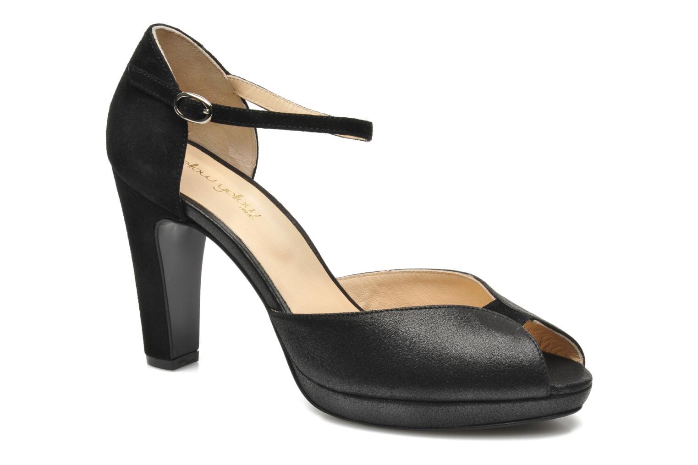 Zapatos de tacón Mellow Yellow Simane Negro vista de detalle / par