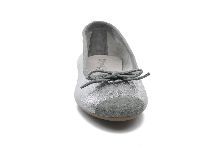 Ballet pumps Coco et abricot Belline Silver model view