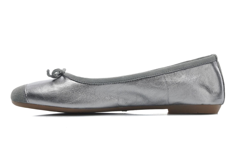Ballet pumps Coco et abricot Belline Silver front view