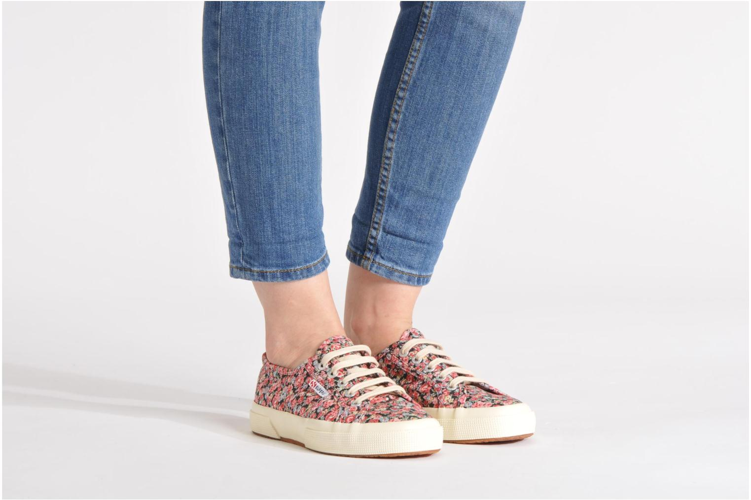 Baskets Superga 2750 Cotu Frabric 25 W Multicolore vue bas / vue portée sac