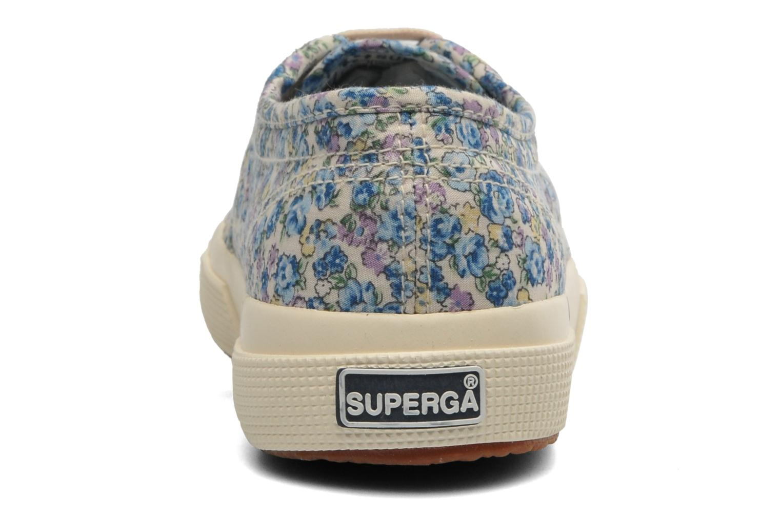 Baskets Superga 2750 Cotu Frabric 25 W Multicolore vue droite
