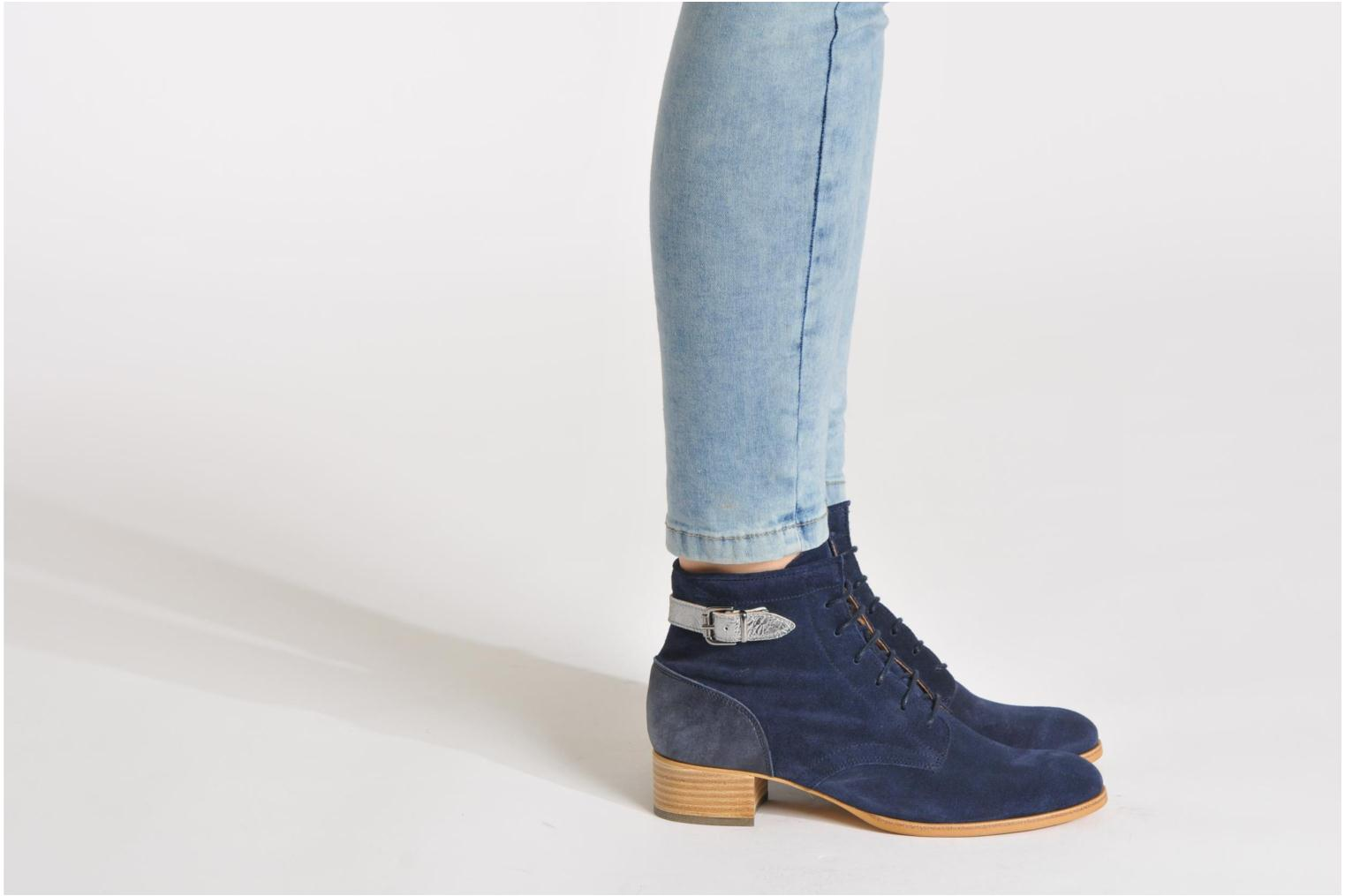 Ankle boots Muratti Mûre Blue view from underneath / model view