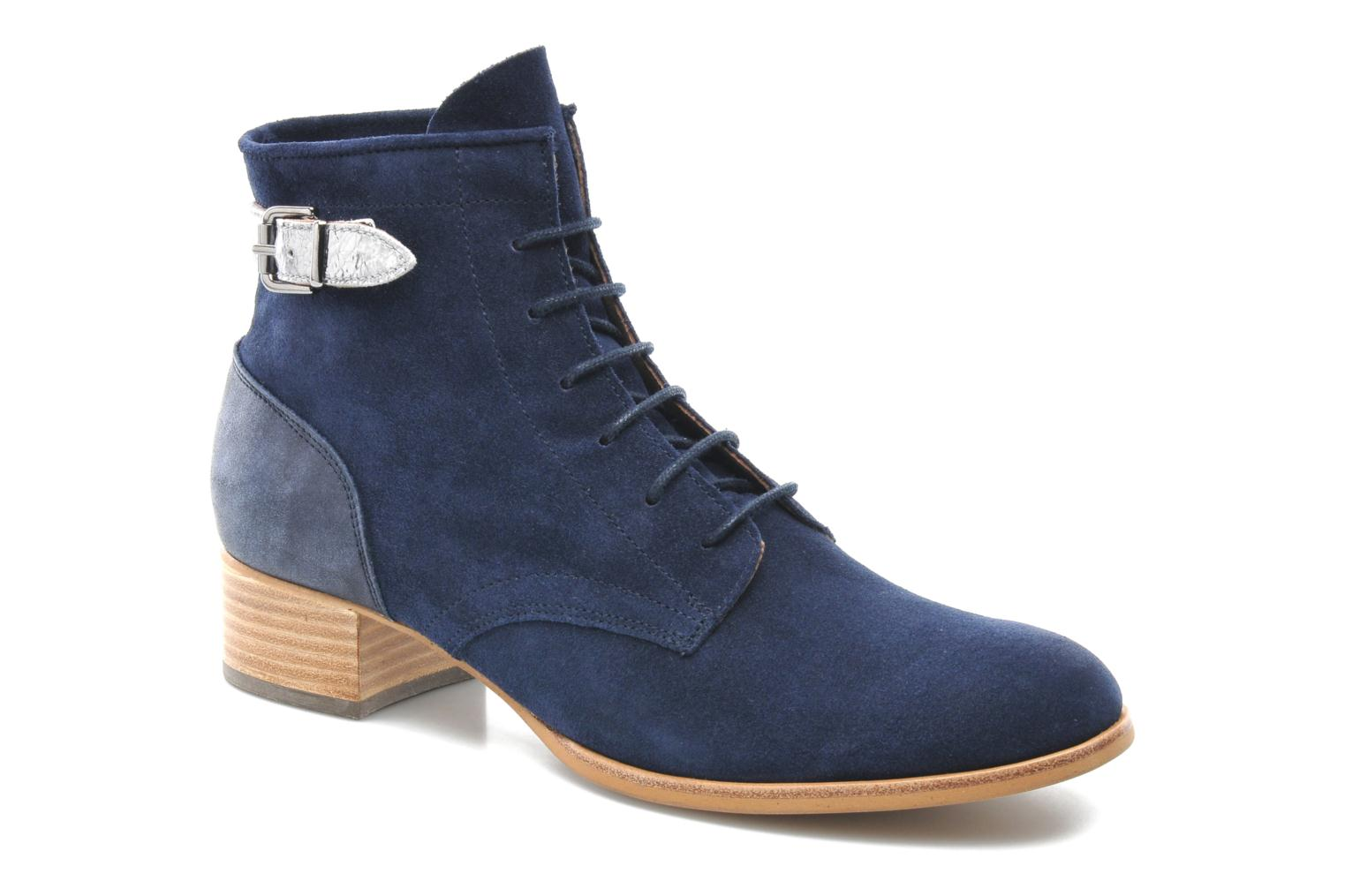 Ankle boots Muratti Mûre Blue detailed view/ Pair view