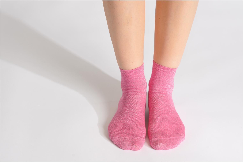 Medias y Calcetines My Lovely Socks Jo Rosa vista de arriba
