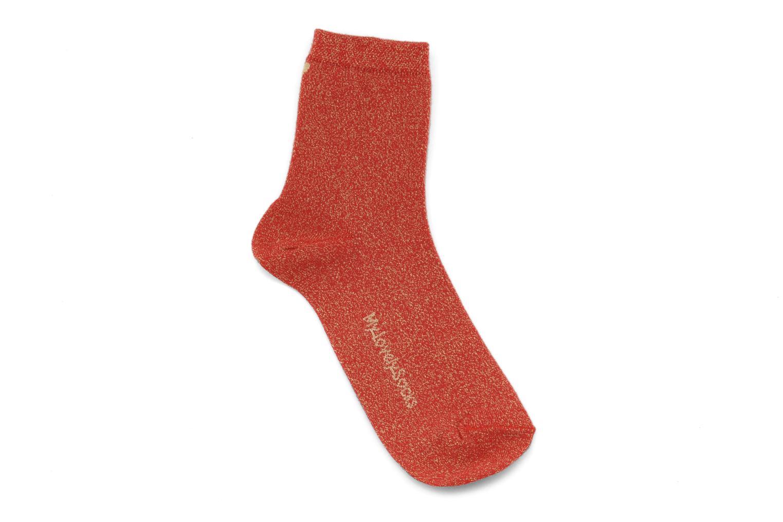 Strumpor och strumpbyxor My Lovely Socks Jo Röd detaljerad bild på paret