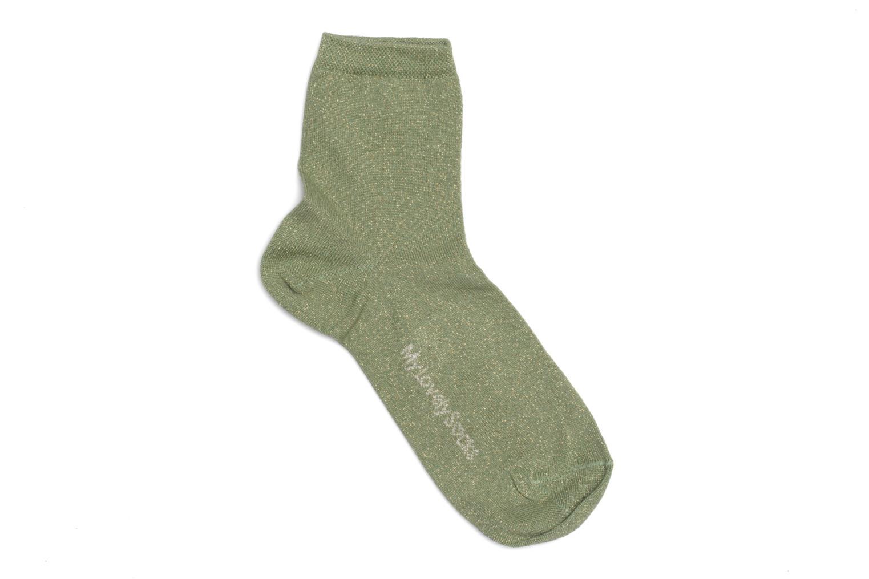 Strumpor och strumpbyxor My Lovely Socks Jo Grön bild från framsidan