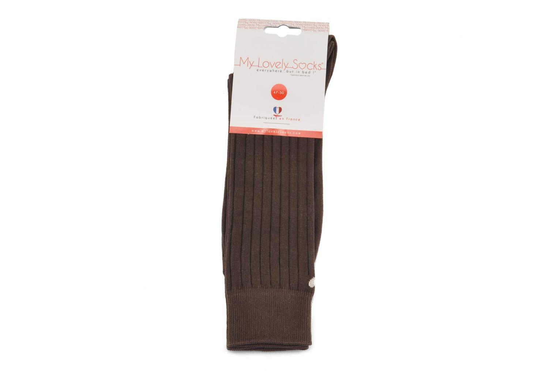 Socken & Strumpfhosen My Lovely Socks Justin braun ansicht von hinten