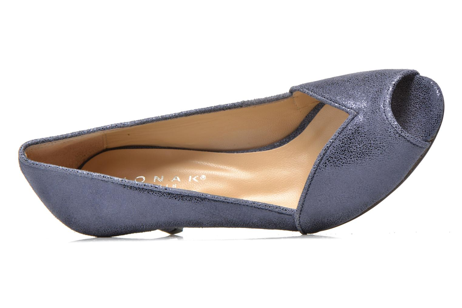 High heels Jonak AMUT Blue view from the left