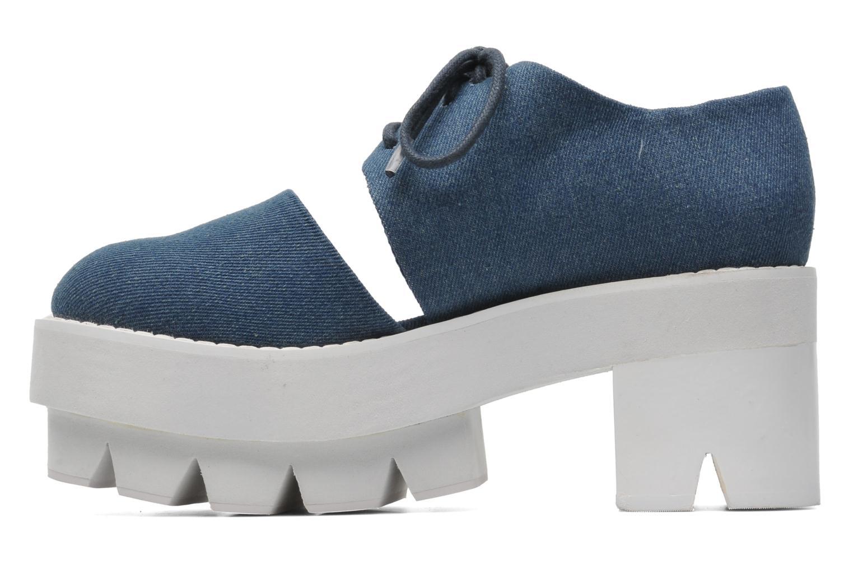 Zapatos con cordones Jeffrey Campbell DELONGE Azul vista de frente